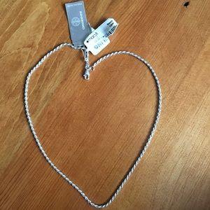 """NWT Sterling Silver Giani Bernini 16"""" Rope Chain"""